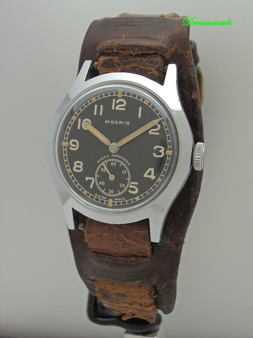 Moeris Vintage Military -original strap very rare