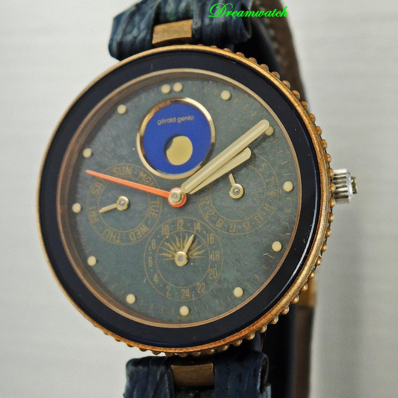 Gerald Genta Gefica Calendar Moon