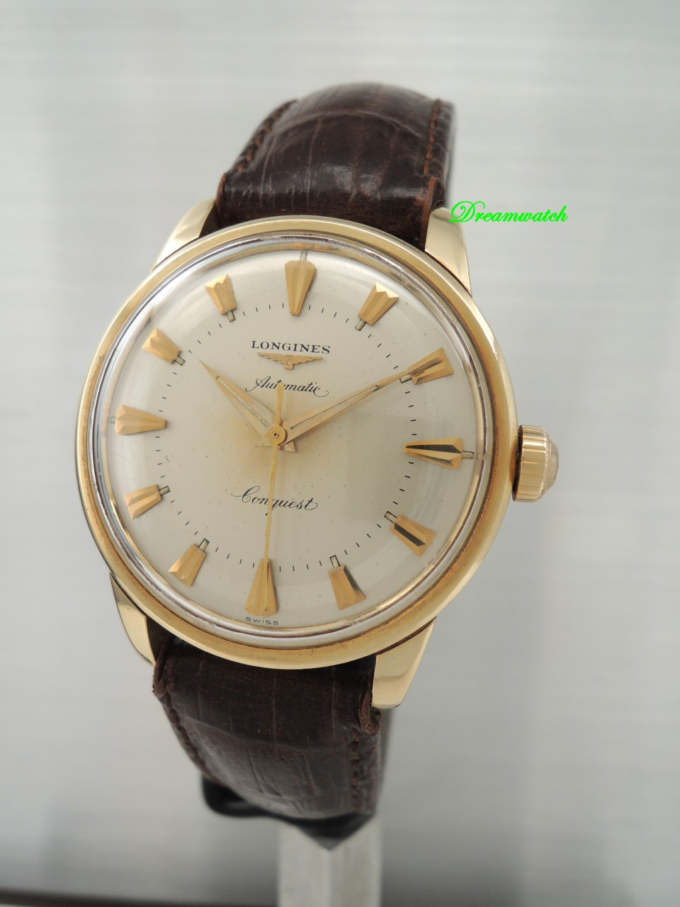 Longines Conquest Vintage Automatik 19AS/ Gold 18k/750