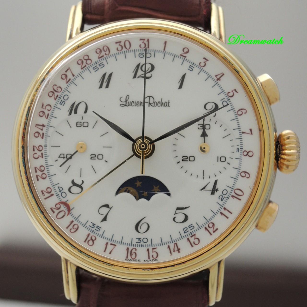 Lucien Rochat Chronograph mit Mondphase -Silber 925