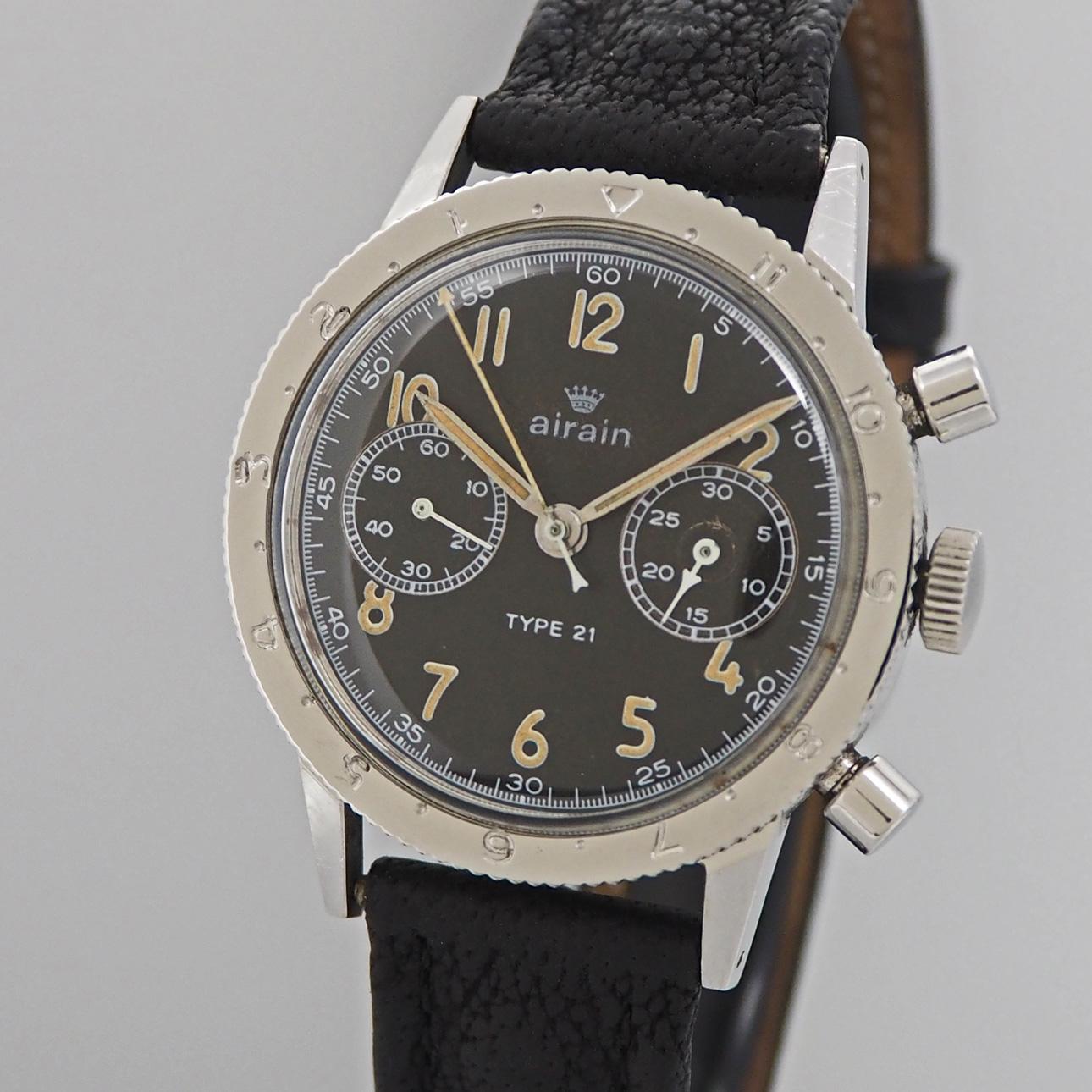minerva military vintage chronograph ihr onlineshop f r gebrauchte luxusuhren. Black Bedroom Furniture Sets. Home Design Ideas